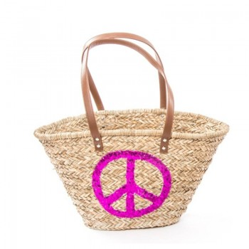 BOLSO CAPAZO NATURAL PEACE...