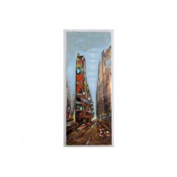 CUADRO PINTADO NEW YORK 60X150