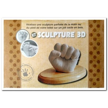 ESCULTURA 3D MANO O PIE...