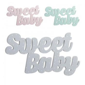 LETRAS DE MADERA SWEET BABY