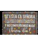 FELPUDO DE FIBRA COCO 60X40X1,5 FRASE