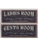 CARTEL MEN LADDIES PLACA METAL MH023
