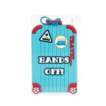 identificador-equipaje-handsoff-azul