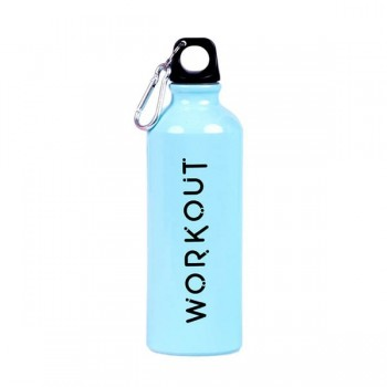 botella-mosqueton-workout-aluminio-750ml-azul