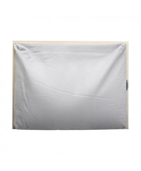 ALFOMBRA ANTIMANCHAS PROPILENO VINILO PVC BASIC BLACK 180x250CM