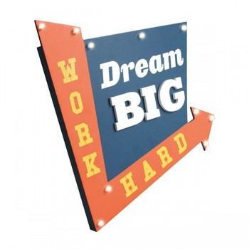 DECO LUMINOSO DREAM BIG