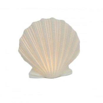 CONCHA LUMINOSA LED PORCELANA