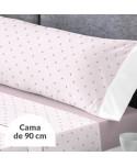 JUEGO DE SÁBANAS GILDA VIOLET ICE CAMA 90