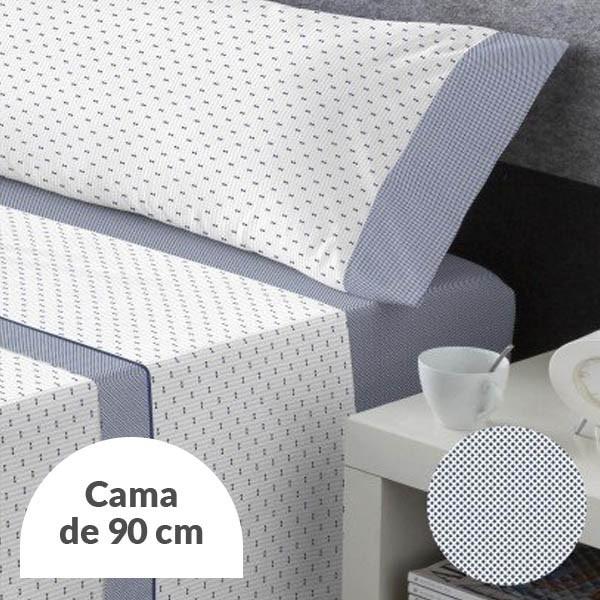 JUEGO DE SÁBANAS FLAVIO MARINO CAMA 90CM