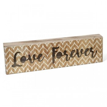 CAJA LUMINOSA LED LOVE FOREVER