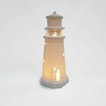 LAMPARA DE MESA LOKE NEGRA CERAMICA