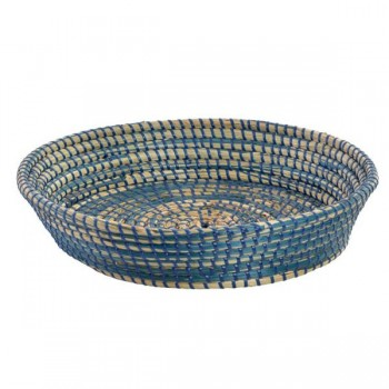 CESTA SEAGRASS NATURAL AZUL...