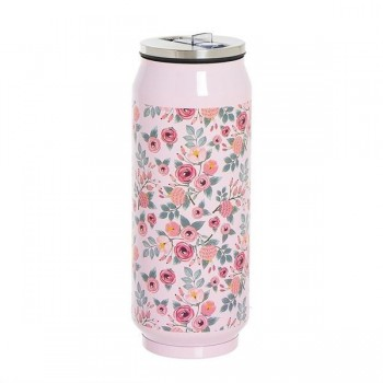 TERMO ROSE FORMA LATA 390ML