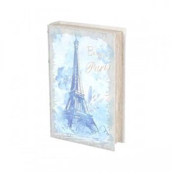 CAJA LIBRO BONJOUR PARIS