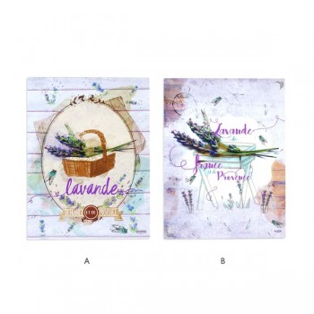 PLACA DE PARED LAVANDA