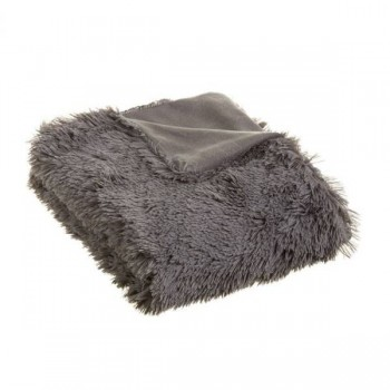 MANTA WOOLLY GRIS OSCURO