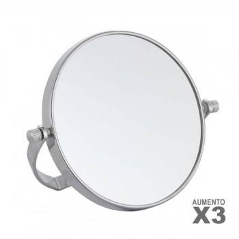 ESPEJO AUMENTO X3 REDONDO...