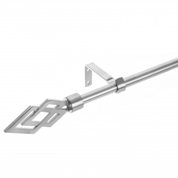 BARRA EXTENSIBLE METAL CROMO
