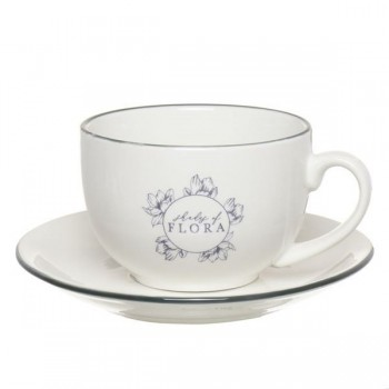 TAZA CON PLATO SHADES OF FLORA
