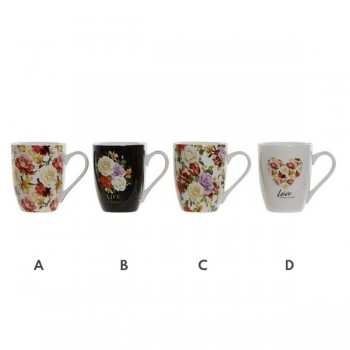 MUG FLORES NEW BONE 340 ML...