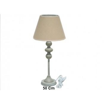 LAMPARA METAL 50X33cm GRIS...