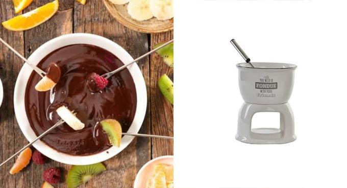 Desayuno fondue