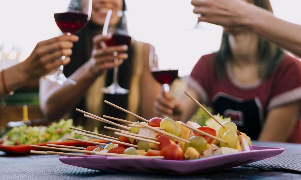 accesorios aperitivo invitados