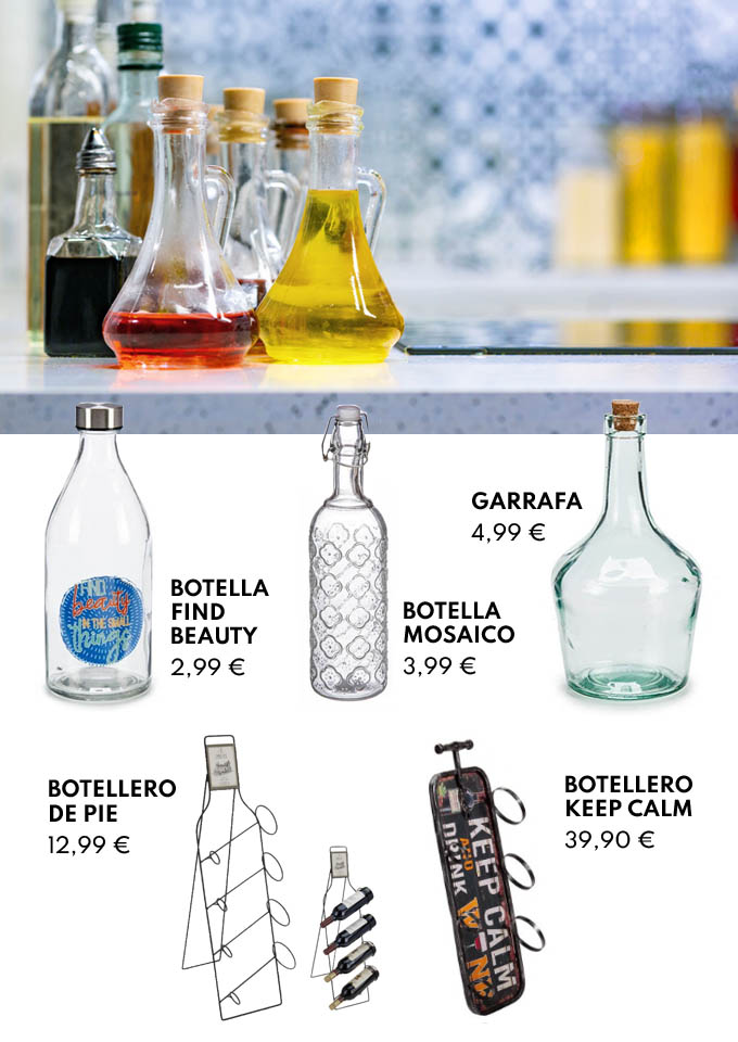 Botellas y botelleros