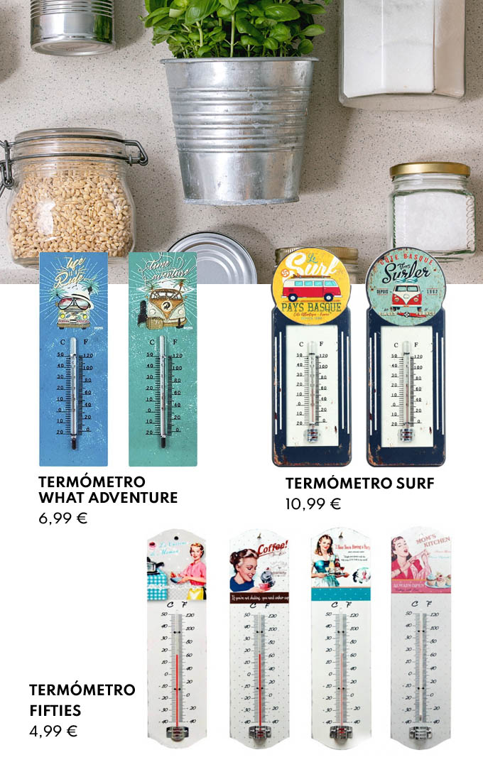 Termómetros de cocina